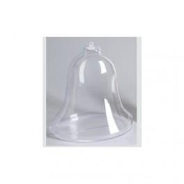 Bombka plastikowa dzwonek 9cm 39-075-37