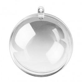 Bombka plastikowa okrągłą 7cm 39-065-37