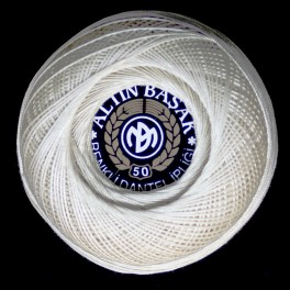 Kordonek Altin Basak Klasik 50 Beyaz