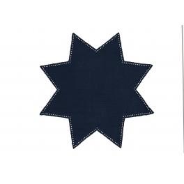 serwetka do obrabiania szydełkiem Anchor w kształcie gwiazdy kol. Zielony Art. 453100700212