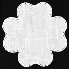 Serwetka do obrabiania szydełkiem Anchor w kształcie KONICZYNY kol. biały Art.  453101000001