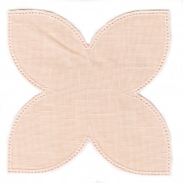 Serwetka do obrabiania szydełkiem Anchor w kształcie KWIAT LOTOSU kol. ECRU Art. 453101101010