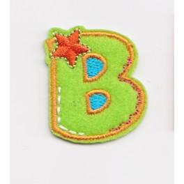 """Naszywka alfabet """"B"""""""