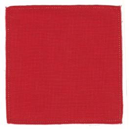 Serwetka do obrabiania szydełkiem Anchor w kształcie KWADRATU kol. CZERWONY Art. 400-954
